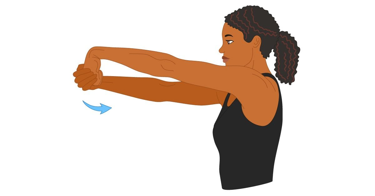 Extending Your Range of Motion with the Wrist Extensor stretch