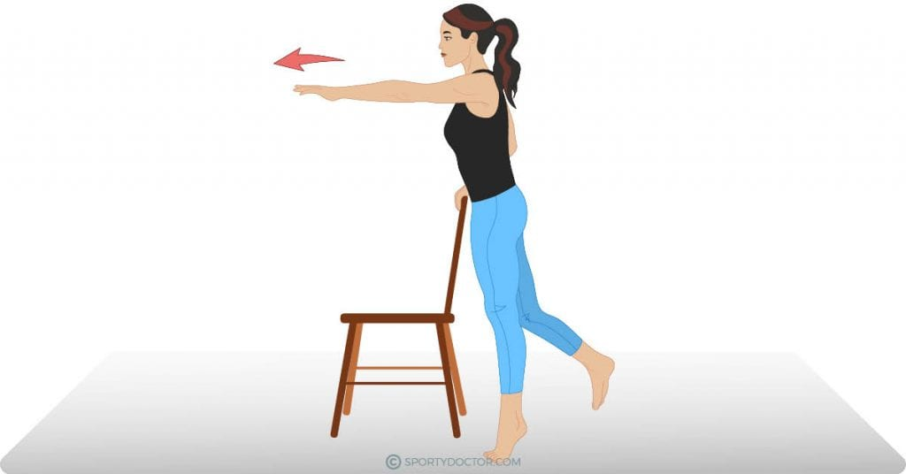 Reach And Stretch For Plantar Fasciitis