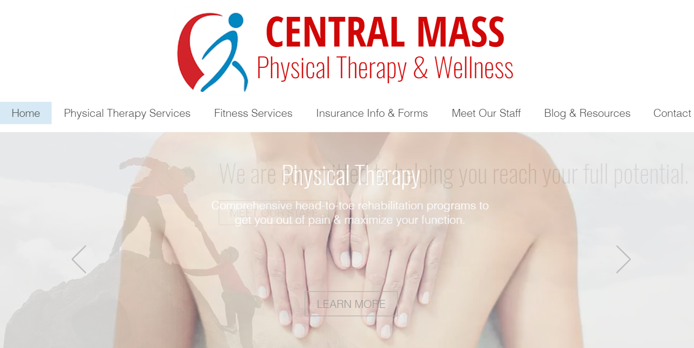 Central Mass Physical Therapy & Wellness Massachusetts Cmpt