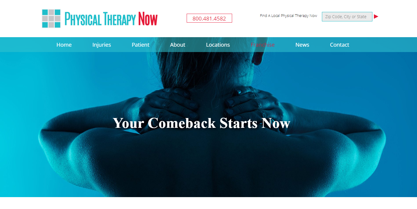 Franchise Physicaltherapy now.com
