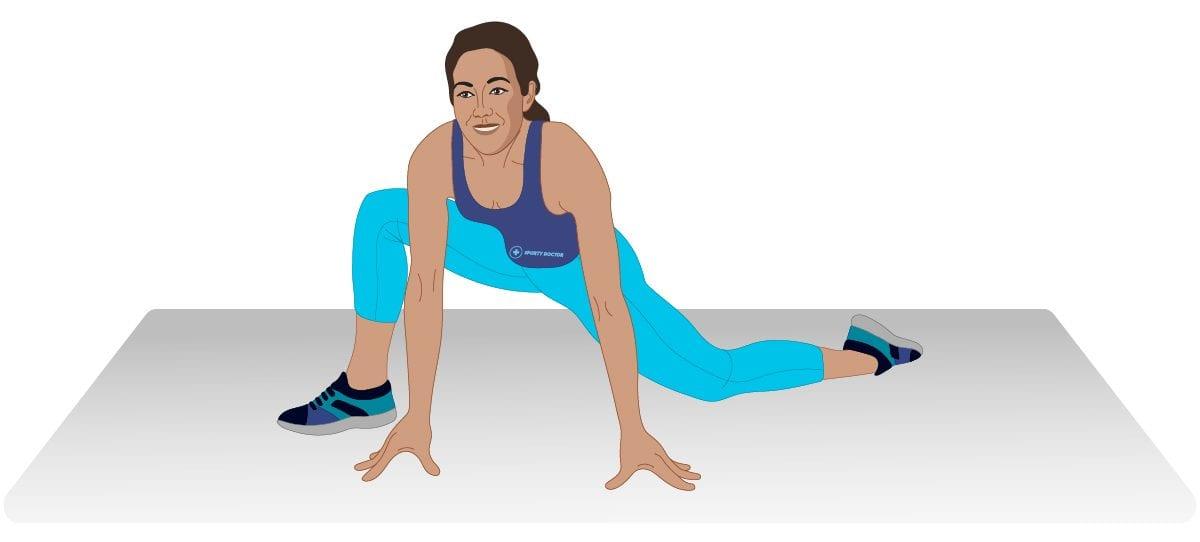 Hip Flexor Stretch & Rotation