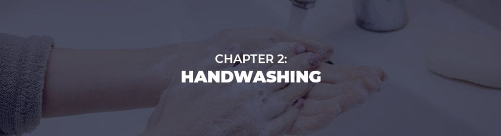 Chapter 2 Handwashing
