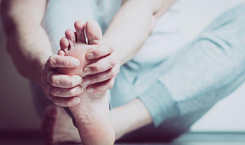 Foot And Heel Pain Massage